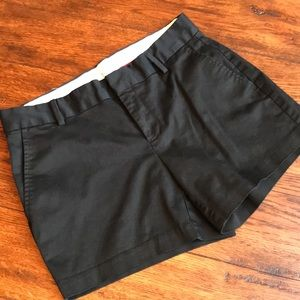 Banana Republic Size 6 Black Shorts EUC